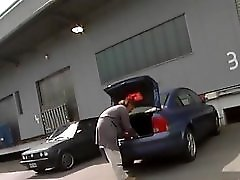 Hooker Gets Fucked Right In The Parking Lot