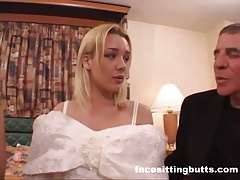 Bride To Be Got A Nasty Facial
