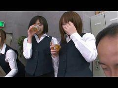 Japanease Strapon Gangbang