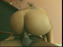 Busty Raven Latina Gets Her Juicy Wet Ass Licked By Stud Then Gets Fucked