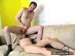Blonde Teen Licks Her Boyfriends Nasty Ass