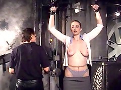 Big Tits Hottie Catherine Bound And Blindfolded For Her Masters Pleasure
