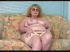 Nice Granny Having A Little Fun With Herself