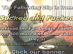 Ebony Bbw Homemade Porn