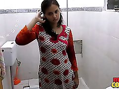 Indian Wife Sonia In Shower Big Tits Exposed