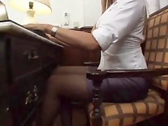 Asian Ts In Stockings Drills Girl Hard