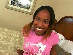 Teen Ebony Banged By Black Cock
