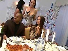 A Christmas Dinner With Orgy!