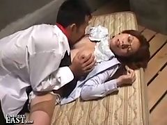 Uncensored Japanese Erotic Fetish Sex School Girl And The Guys
