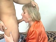 Hot German Milf Helps Her Man To Relax