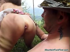 Rough German Anal Mountain Fuckfest