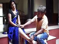 Sexy Indian Aunty Romance With Debar Massage Body By Devar Bhauja Com