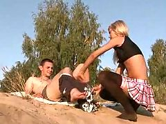 Naughty Euro Blonde Gets Hungry For Cock!