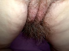 Wife Real Hairy Pussy Asshole Asscrack & 8'' Long Pube