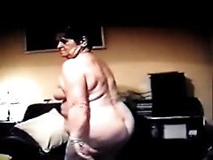 70 year old granny Marion strips