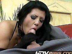 Black Hair Amanda Fucked In Threesome Mp4