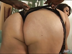 Fat Ass Lorelai Givemore Takes Black Dick
