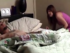 Naught Step Sister Gives A Great Blowjob