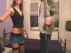 Whore Offers Her Service At His Place