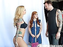 Penny Pax Gets Tricked To Fuck Sarah Jessie And Her Bf!