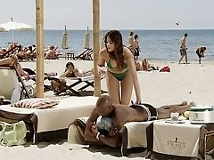 Spanish Brunette White Girl With Black Lover Softcore Interracial
