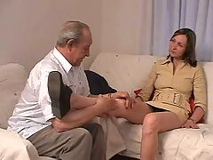 Old man fucks his grandson 039 s girlfriend