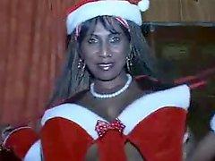 Huge Black Santa