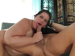 Pierced Tongue Bbw 567