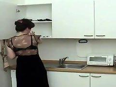 Mum Fucked In The Kitchen
