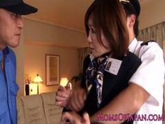Asian MILF Flight Attendant Rammed In Ass