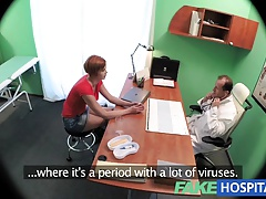 Fakehospital Sexy Redhead Will Do Anything For A Sick Note
