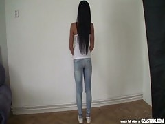 Czasting Beautiful Brunette With Perfect Body