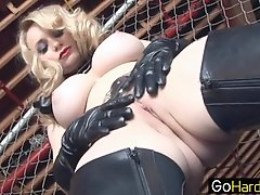 Aiden Starr Aiden Showing Her New Slave The Ropes