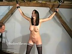 Hellpain Whipping Of Tied Emily Sharpe In Extreme Spanking