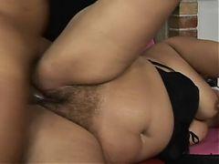 Fat Woman Rides A Cock
