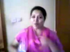 Southindian Mallu Aunty's Nude Body Exposed By Partner