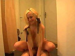 Swedish Blonde Teen Fucked Hard