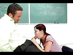 Tiny Asian Student Gets Cock