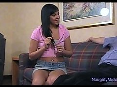 Ivy Winters Sucks And Fucks For A Babysitter Job
