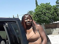 Ebony Cunt Fucking For The Cash