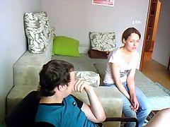 Amateur Jewish Girlfriend Making Love With Russian Boyfriend