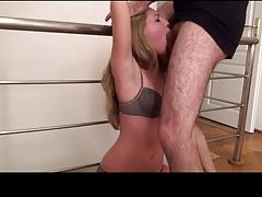 Slapped French Deepthroat Humiliation 1