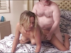 Hot Blonde Niki And Old Ed