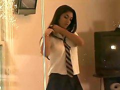 Leah Jaye Hot Desi Schoolgirl