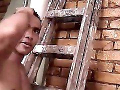 The Neighbor Helps Sexy Brazilian Shemale