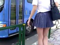 School Girl Bus
