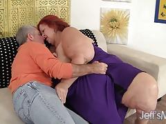 Redhead Mature Sweet Cheeks Hardcore Sex