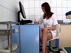 Nurse With Natural Big Tits