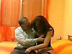 Tgirl Seduces Older Man