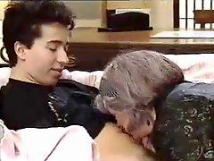 Kinky Granny In A Threesome